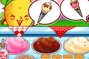 制作冰淇淋