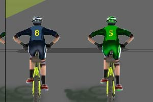 双人自行车对战