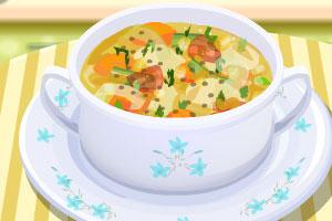 时令蔬菜浓汤
