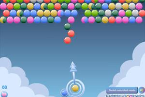 云朵彩球泡泡龙