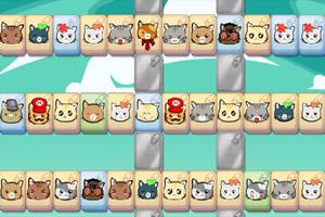 可爱猫咪连连看小游戏 搜小游戏大全