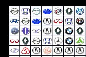 汽車標志連連看