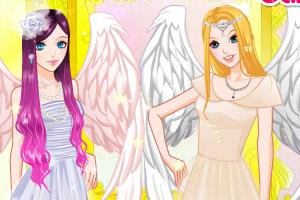 天使女孩的翅膀下载 angel