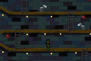 忍者神龟爬楼梯