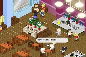 梦幻美女西餐厅