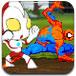 蜘蛛侠和奥特曼保护地球无敌版-敏捷小游戏