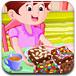 爱心布朗尼蛋糕-休闲小游戏